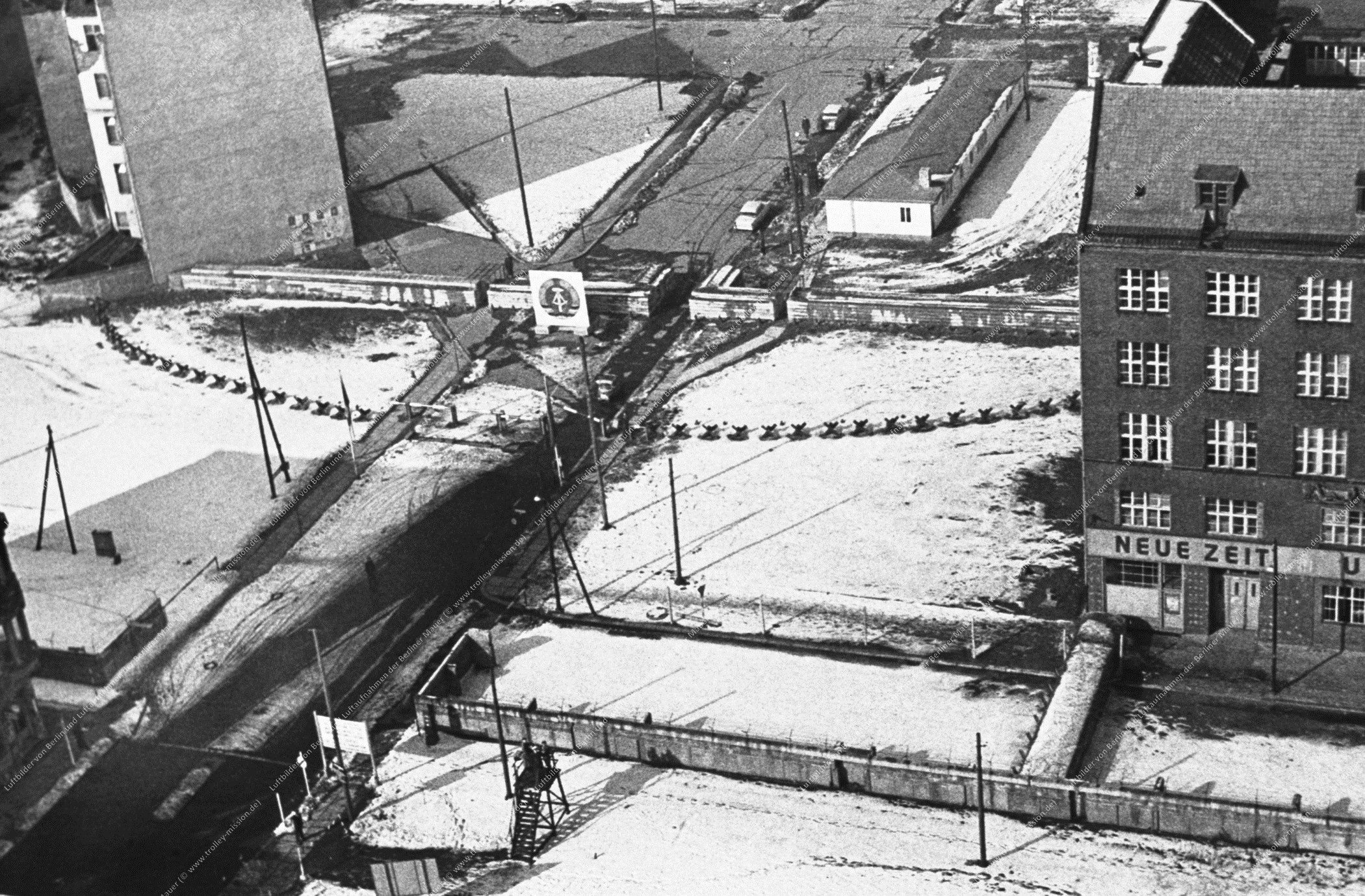 Berlin Luftbild Checkpoint Charlie (Bild 016)