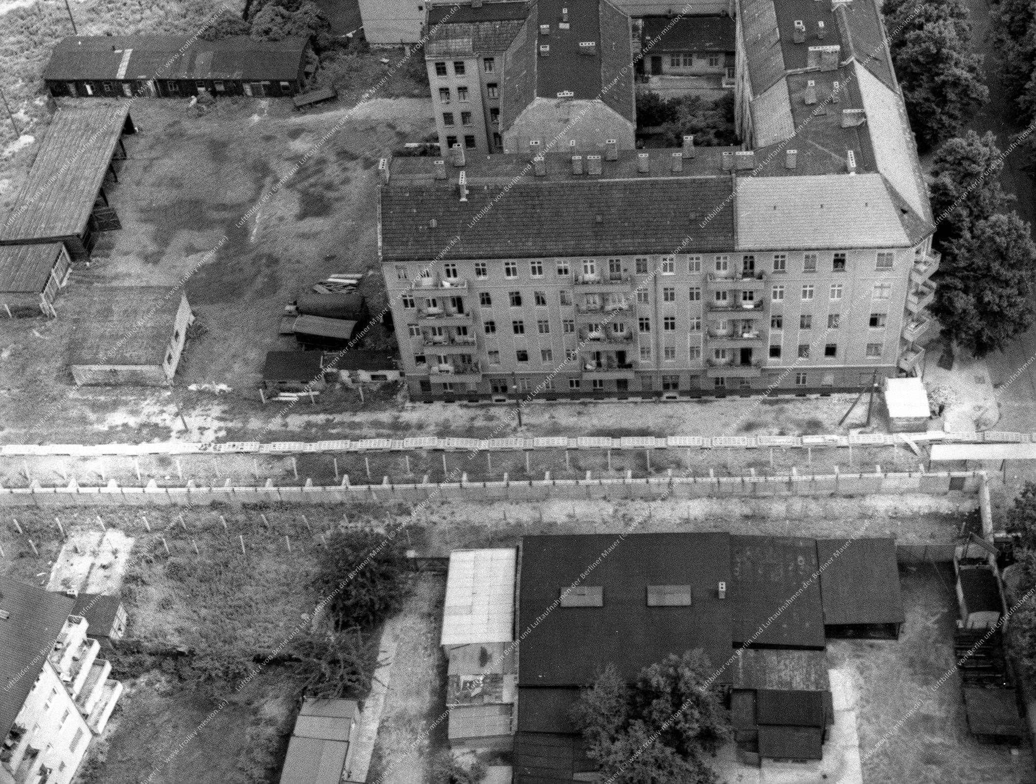 Luftbild der Heidelberger Straße und Elsenstraße zwischen Neukölln und Treptow in Berlin (Bild 023)