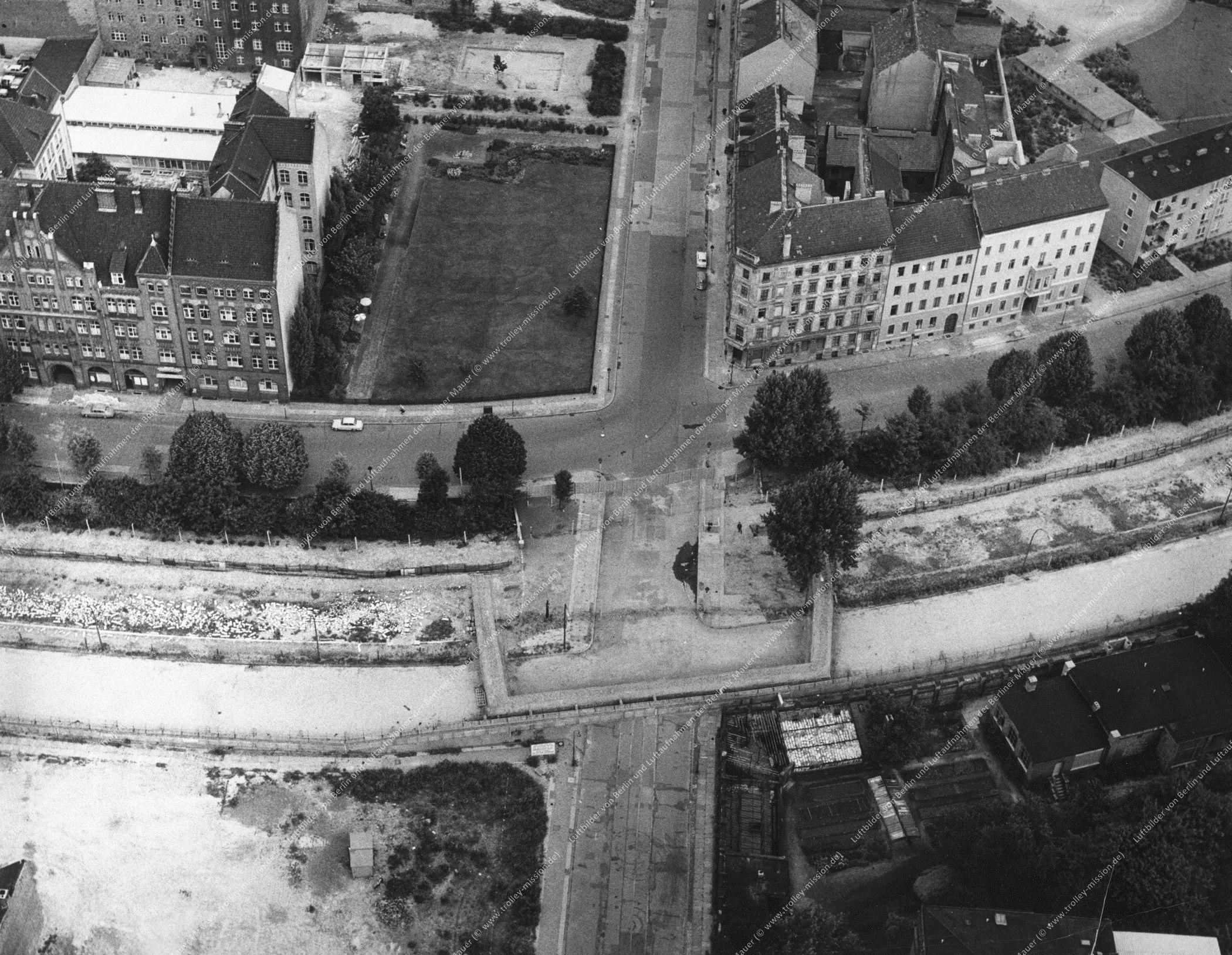 Luftbild Adalbertstraße, Engeldamm und Bethaniendamm in Berlin (Bild 028)