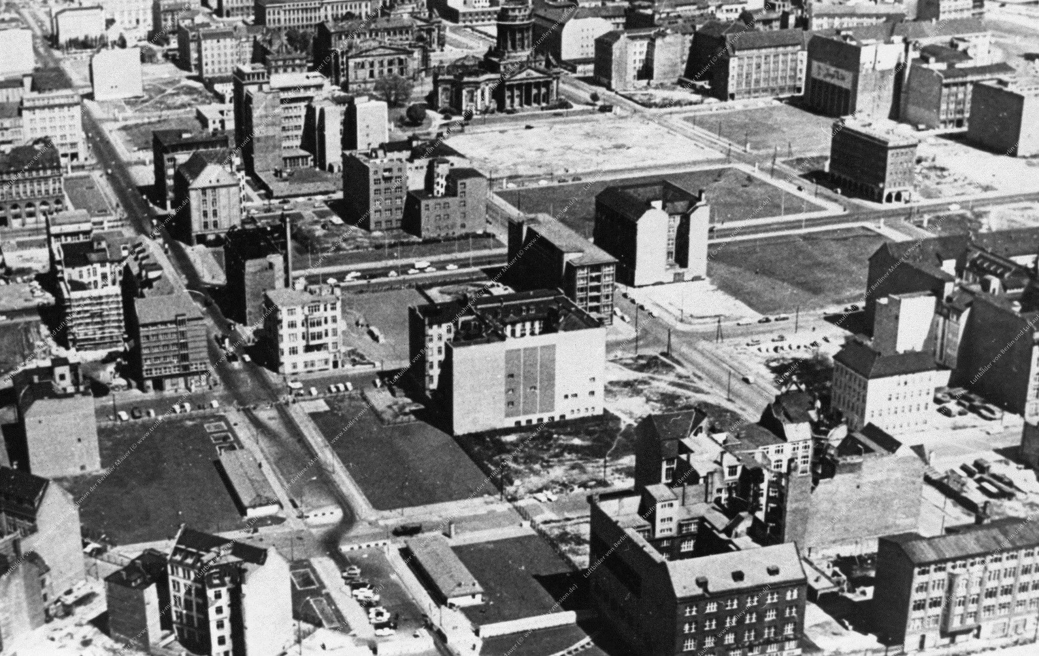 Berlin Luftbild Checkpoint Charlie (Bild 002)