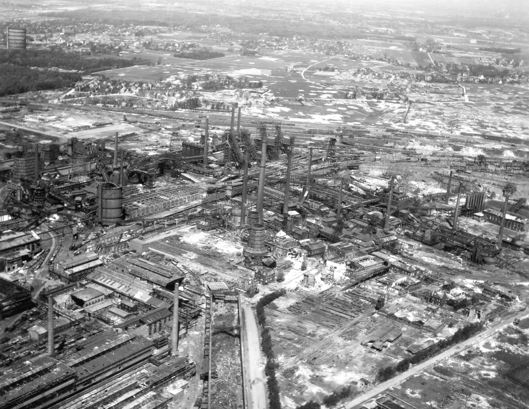 Luftbild der Westfalenhütte und Zeche Kaiserstuhl II in Dortmund