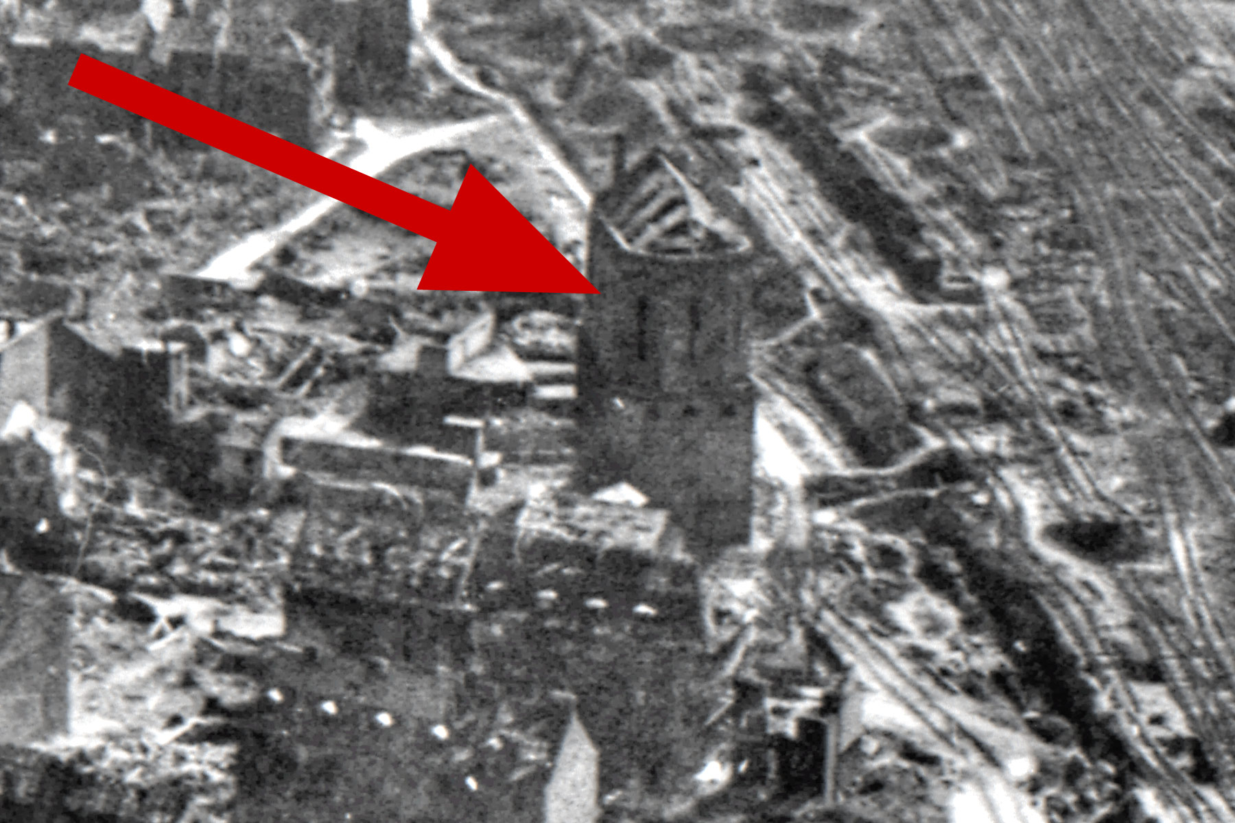 Unbekanntes Gebäude - vermutlich Kirche - in Hamm am Schwarzen Weg in der Nähe vom Hauptbahnhof