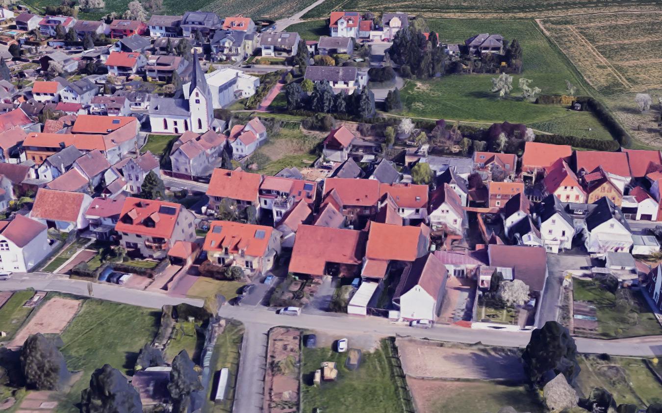Radheim in der Gemeinde Schaafheim mit Google Maps