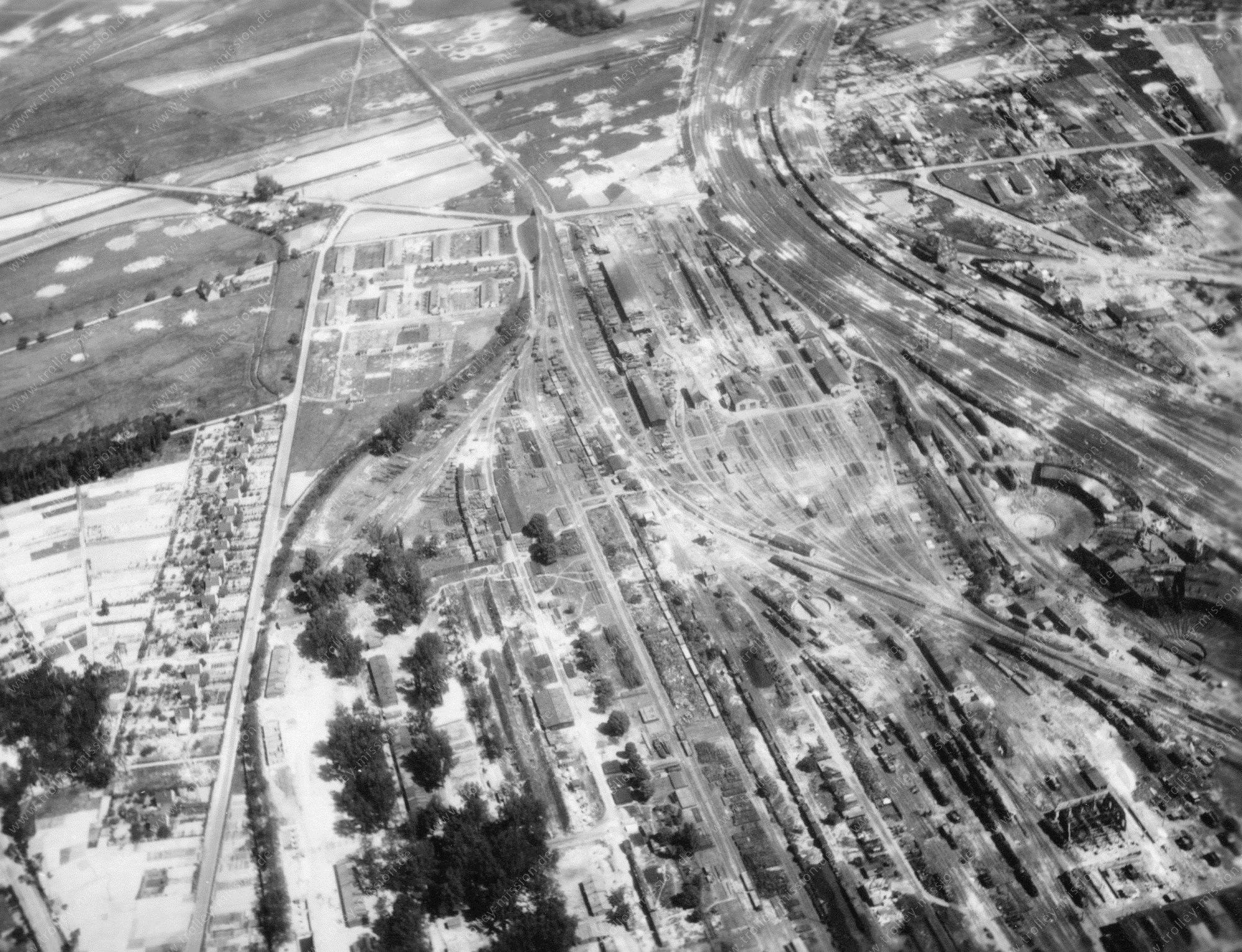 Luftbild Bahnbetriebswerk Darmstadt
