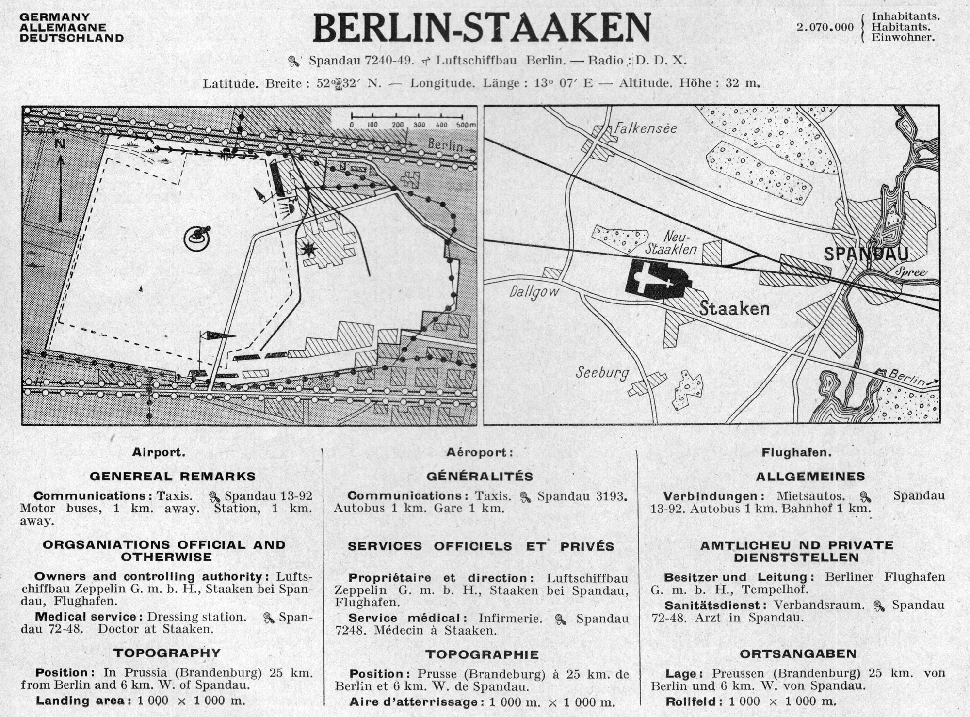 Fluhafen Berlin Staaken