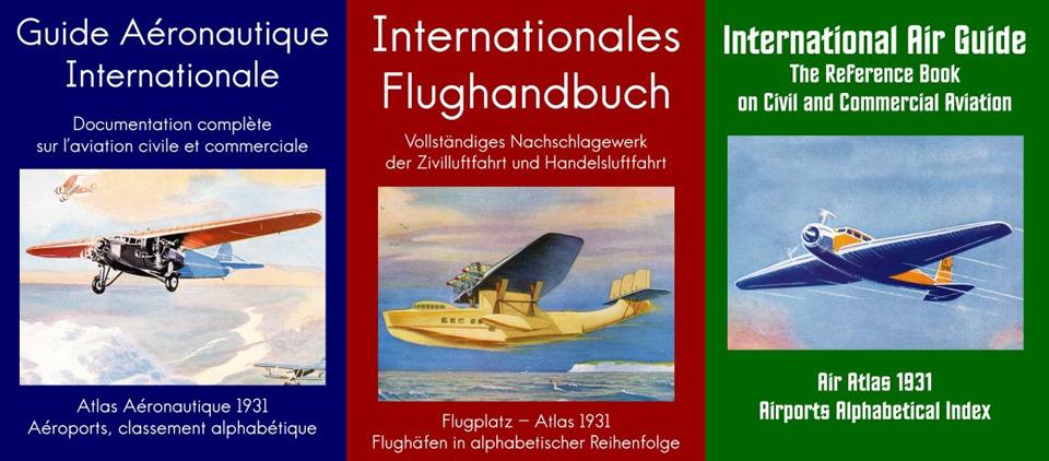 Das internationale Flughandbuch, ein Nachschlagewerk der Zivil- und Handelsluftfahrt mit Flughäfen und Kartenmaterial in alphabetischer Reihenfolge