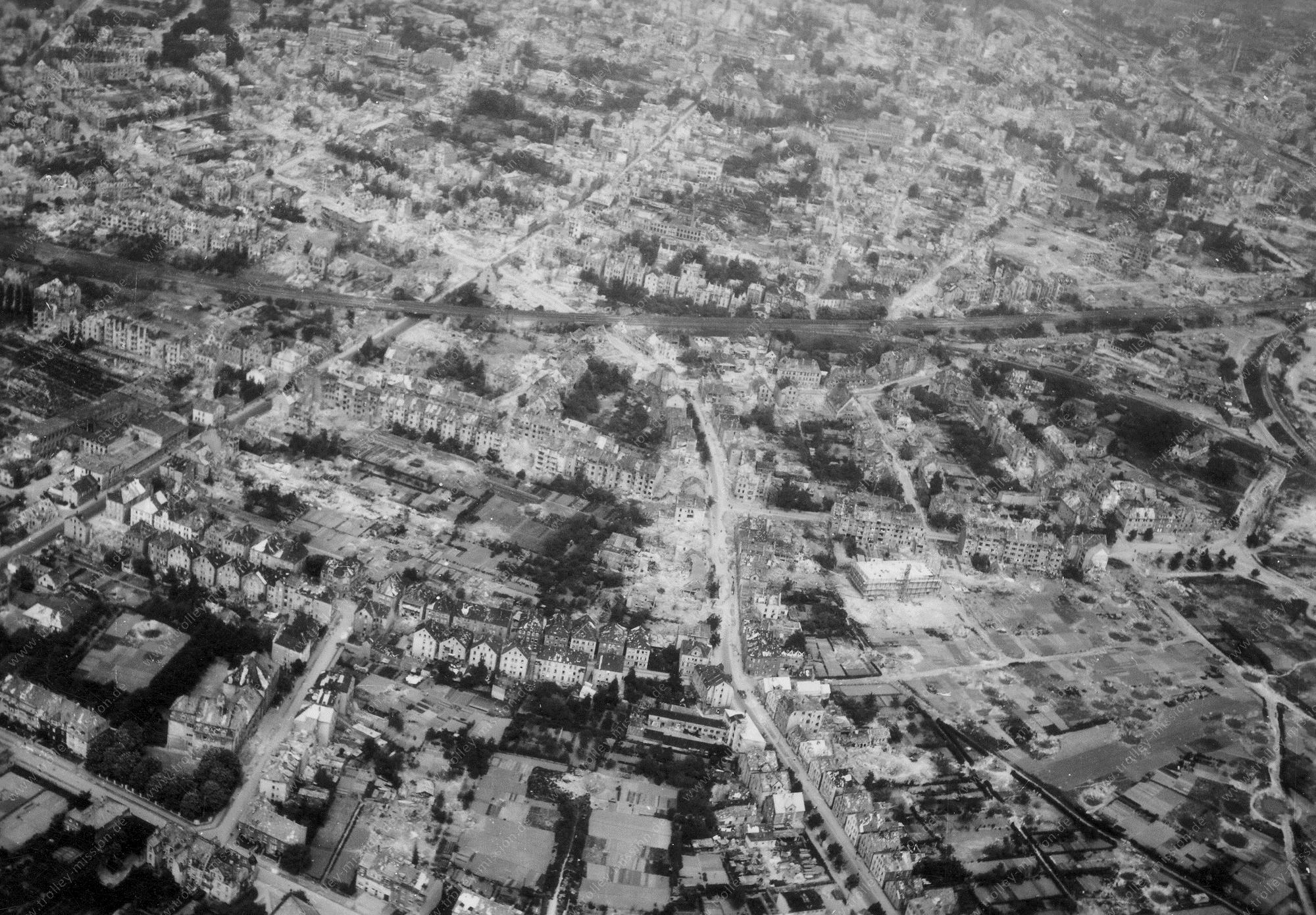 Osnabrück Luftbild im Krieg