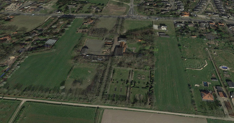 Google Maps: Soldatenfriedhof in Molenhoek bei Nijmegen (Nimwegen) - Amerikaanse begraafplaats Molenhoek - United States Military Cemetery