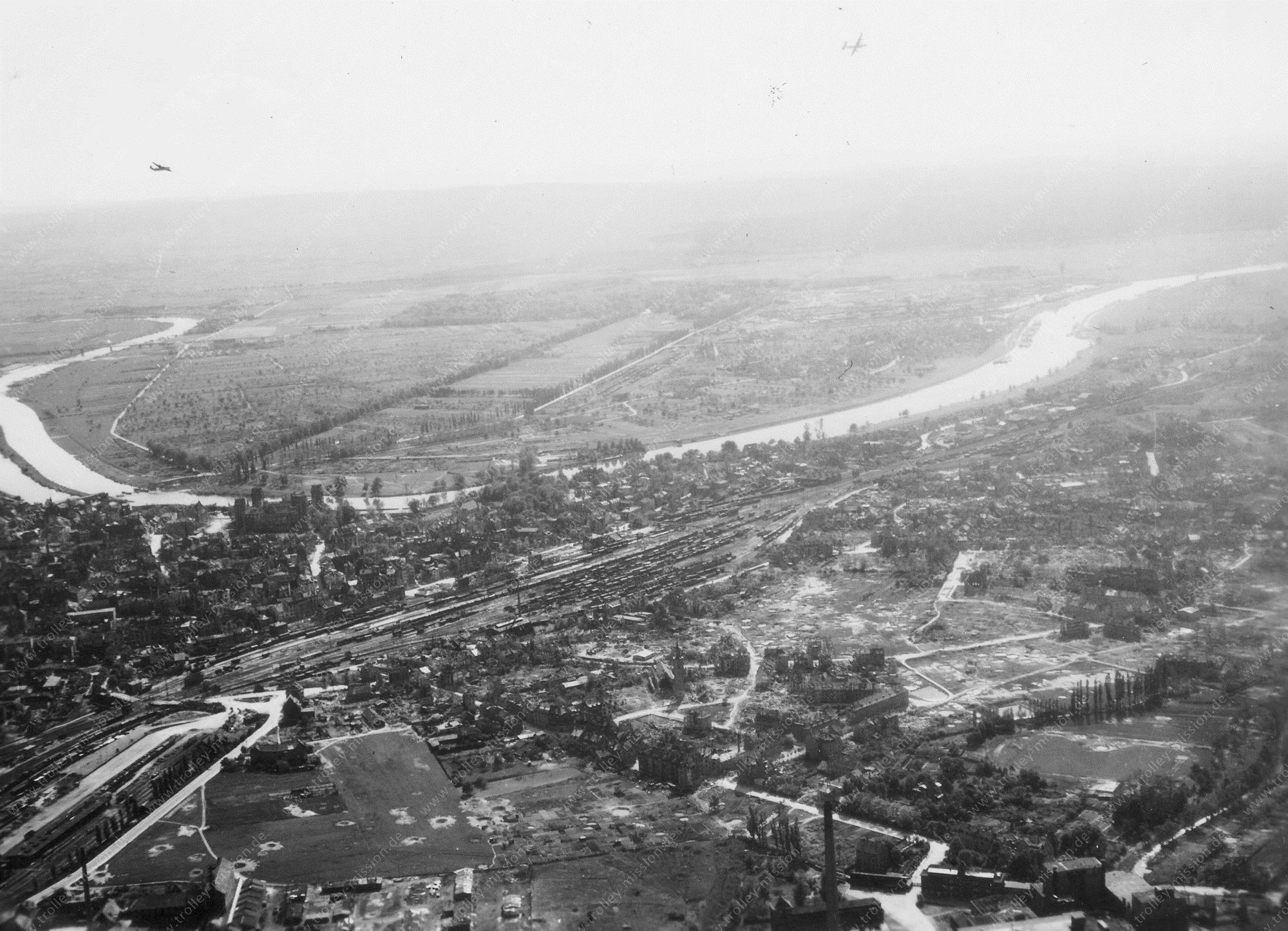 Aschaffenburg Luftbild Schloß Johannisburg