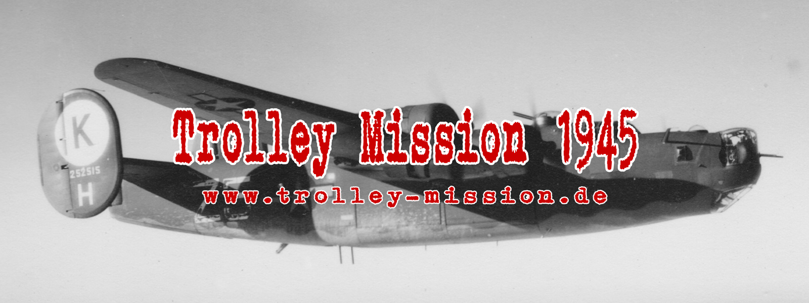 Luftaufnahmen und Luftbilder von Deutschland während der Trolley Mission im Mai 1945