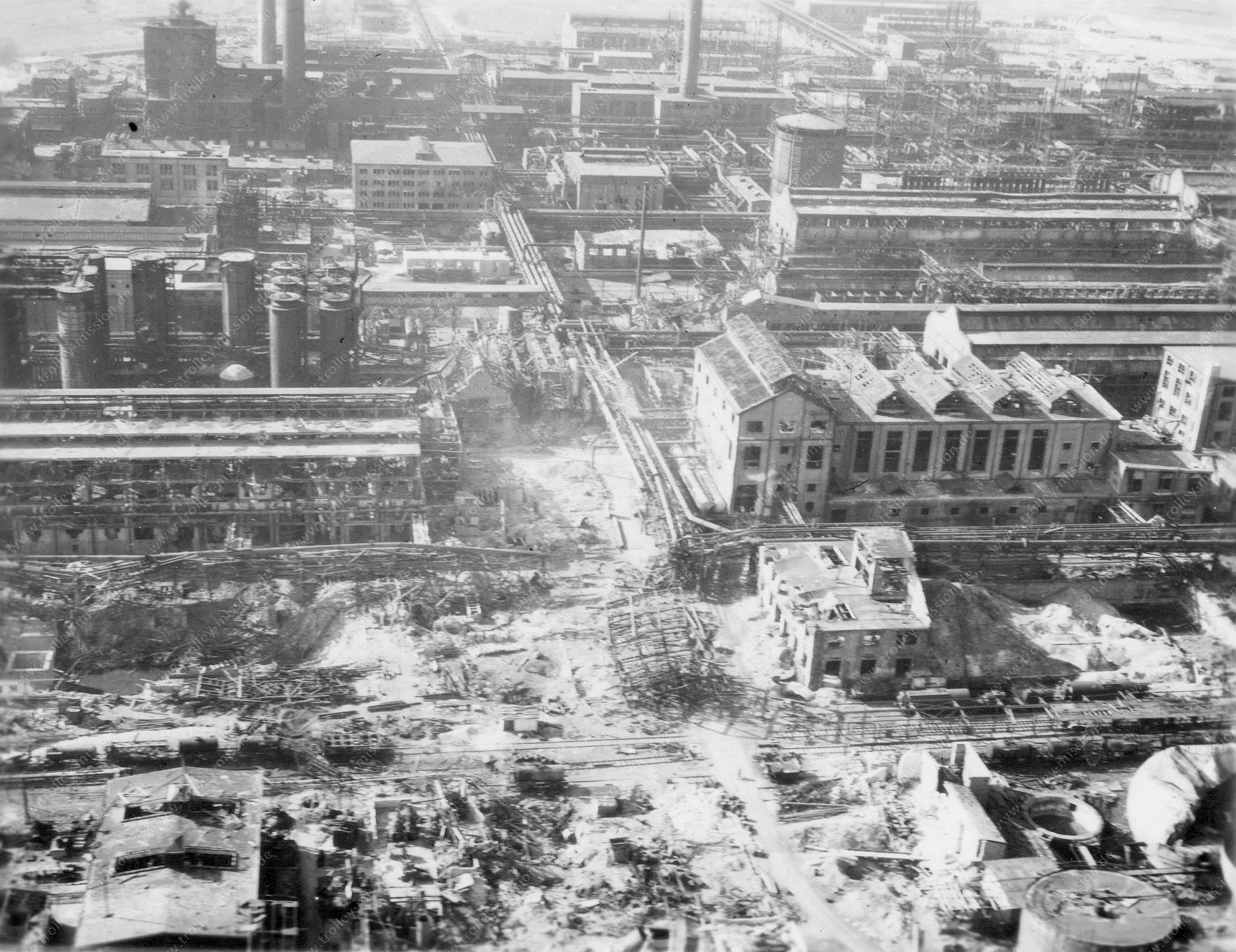 Unbekanntes Luftbild Industrie- und Fabrikgebäude