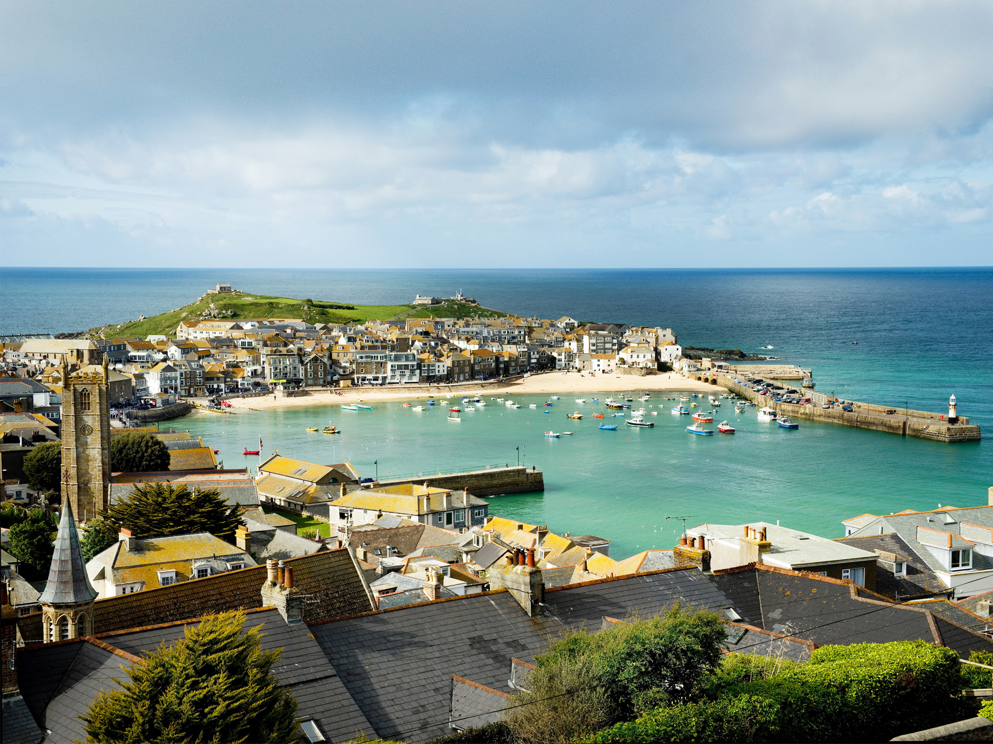 St Ives in der Grafschaft Cornwall in England