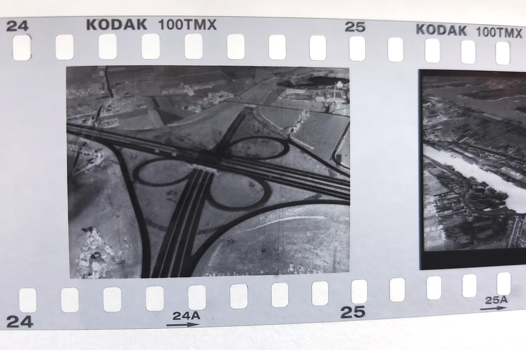 Digitalbild als Diabelichtung