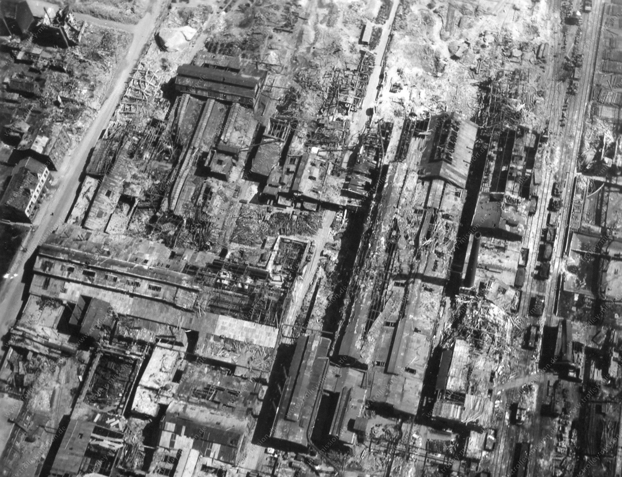 Luftbild von Gelsenkirchen und dem Stadtteil Bulmke-Hüllen (Brüsseler Straße und Europa Straße)