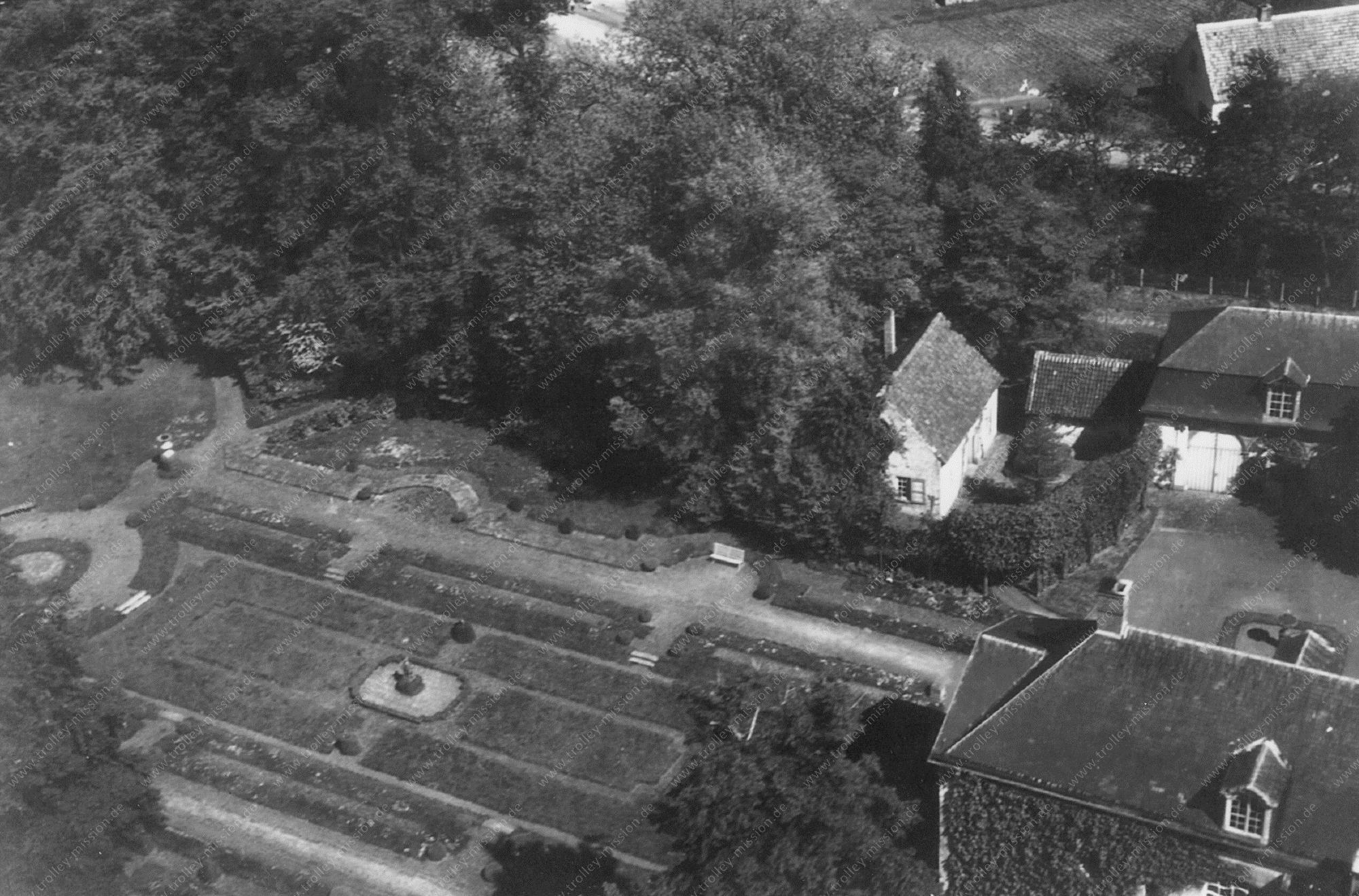 Unbekanntes Luftbild Garten bzw. Gartenanlage