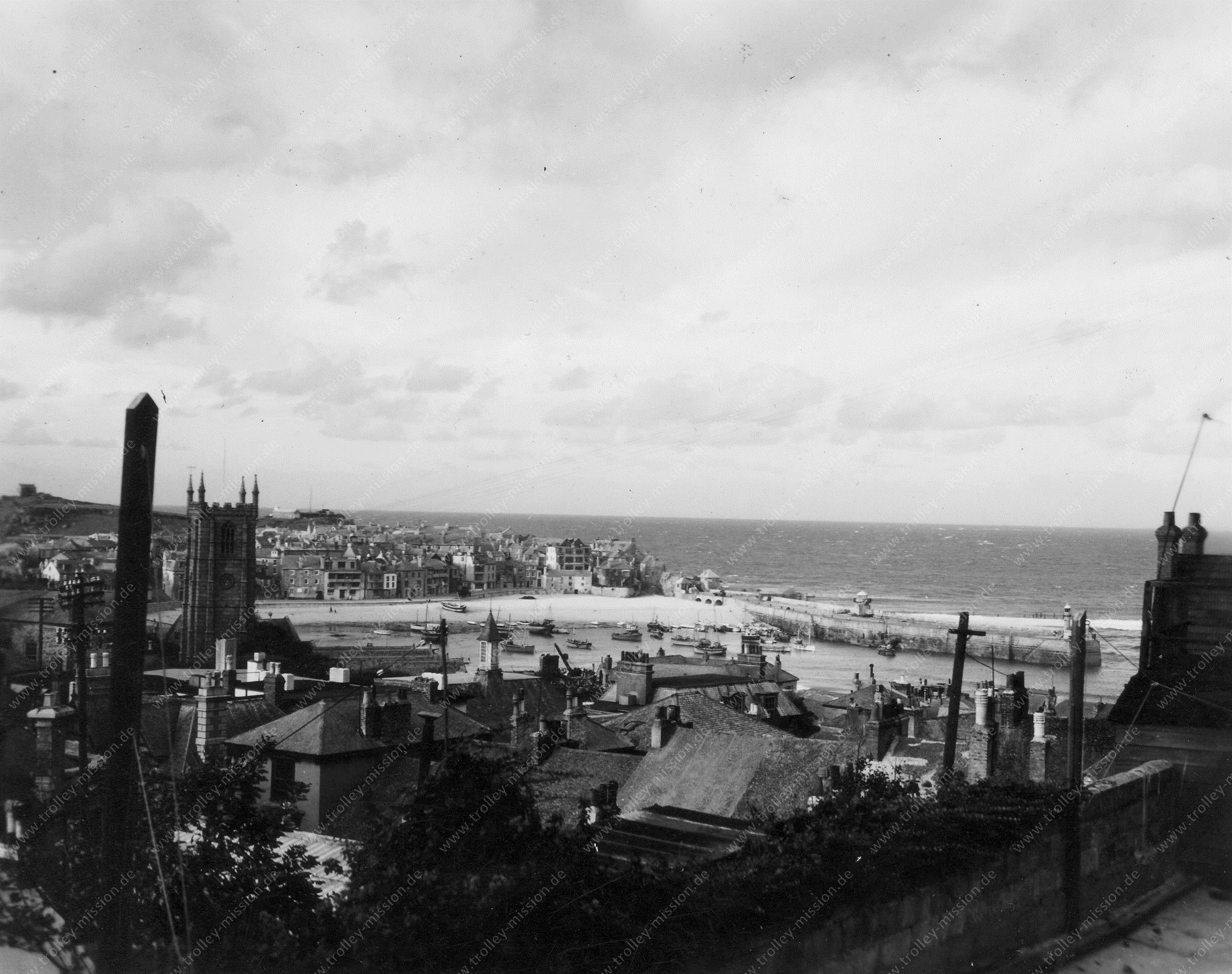St Ives - Sea View Terrace - Photo of Second World War - Cornwall England