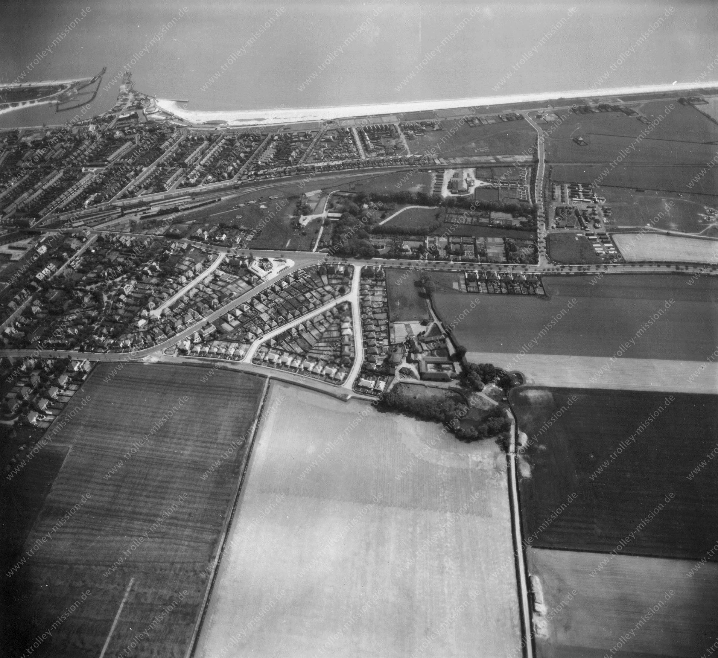 Great Yarmouth - Aerial Photograph May 1945 - Airborne Imagery 2/2