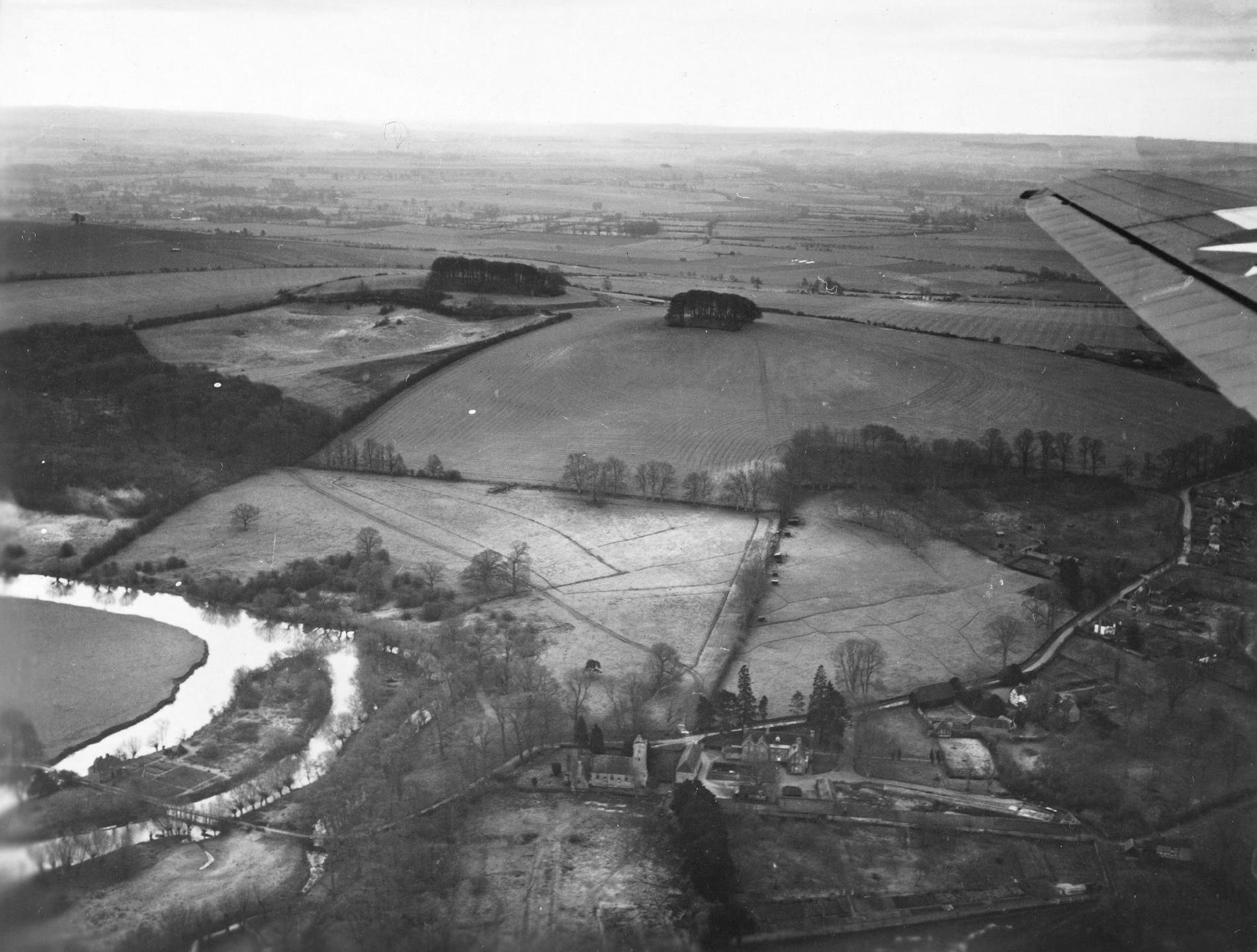 Little Wittenham und seine St. Peter's Church sowie die Little Wittenham Bridge (Großbritannien)